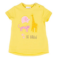 Футболка для девочки BE BRAVE (G 56-86) WC1143203BEB-004  Coccodrillo